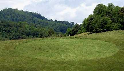 crop circle found in Yancey County in 2005