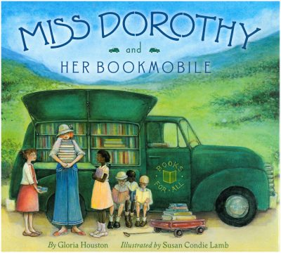 Ms Dorothy and her Bookmobile book cover art