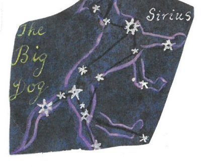 Sirius in the Big Dog