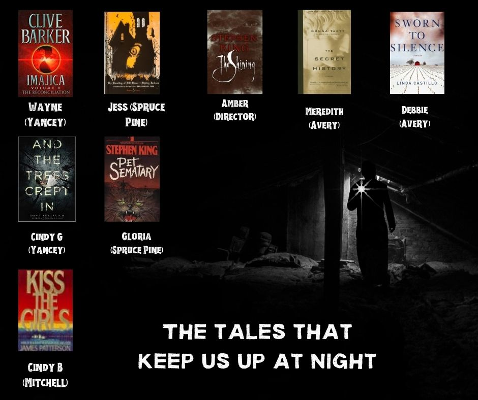 Librarian Recommendations of tales that keep us up at night