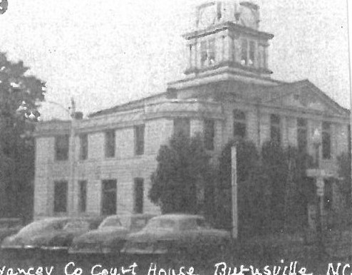 Yancey County Courthouse, Burnsville NC