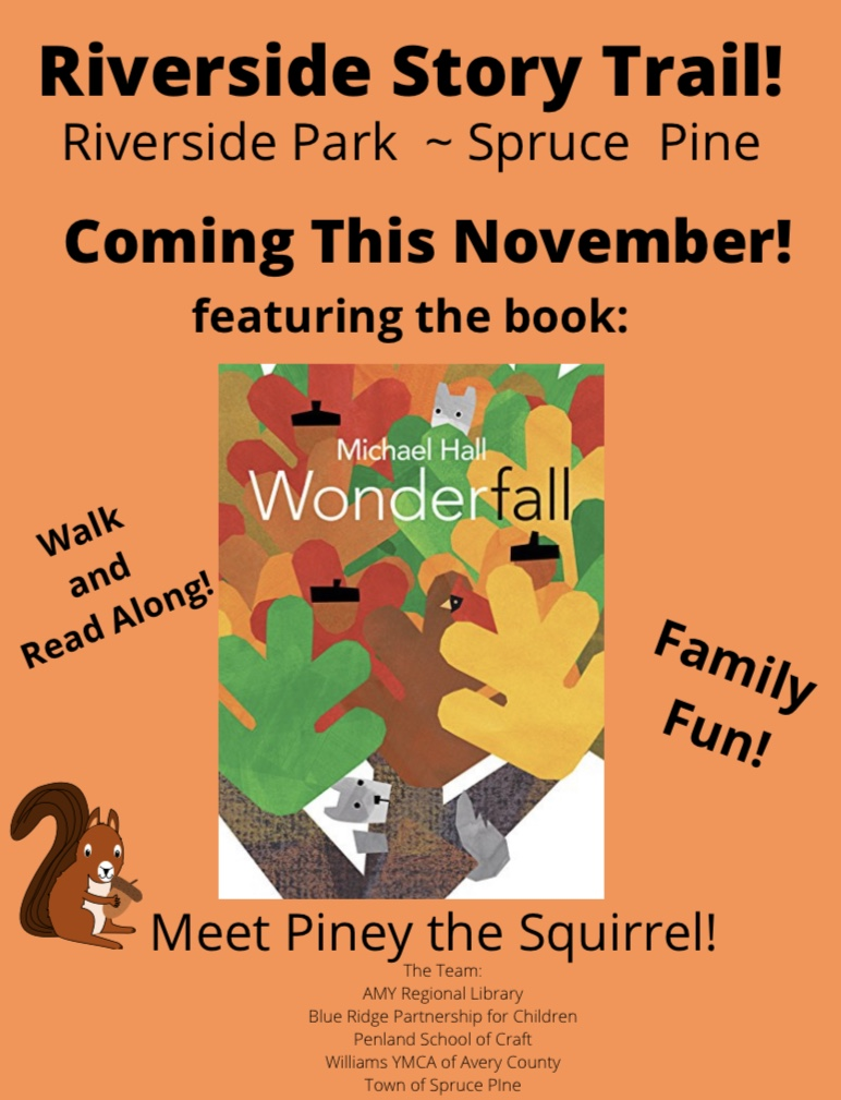 Information about the Story Trail in Spruce Pine