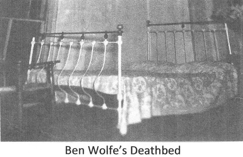 Bed of Ben Wolfe