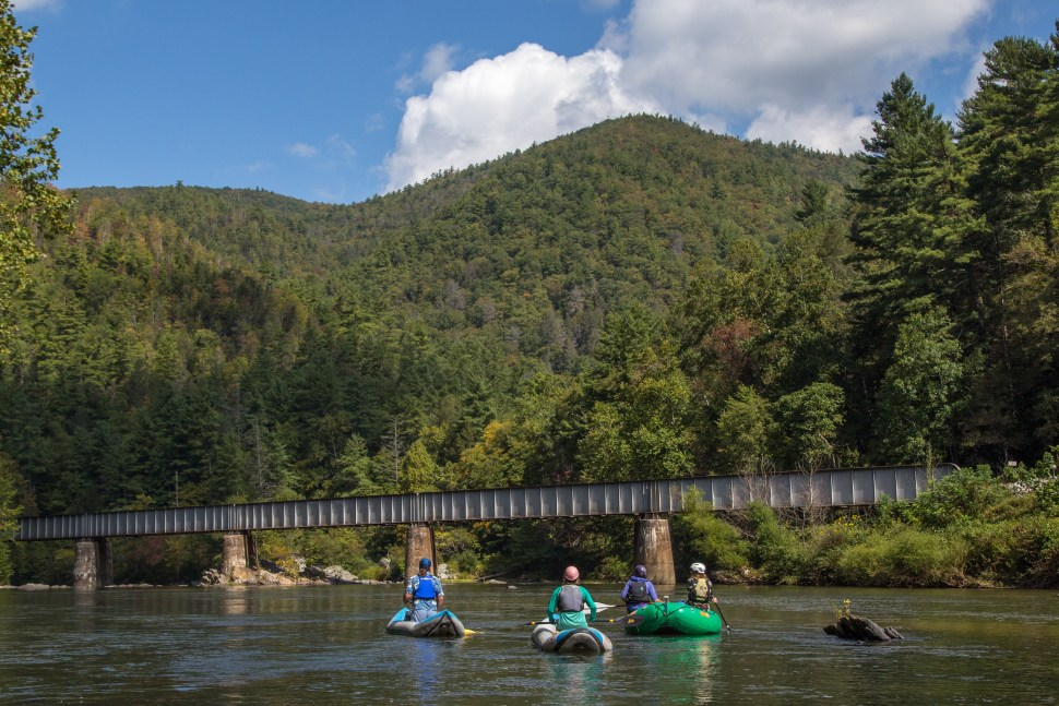 Canoeing on the Nolichucky
