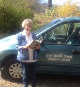 Outreach Van Delivering Large Print in Avery County
