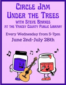 Jam Circle, Under the Trees with Steve Barnes